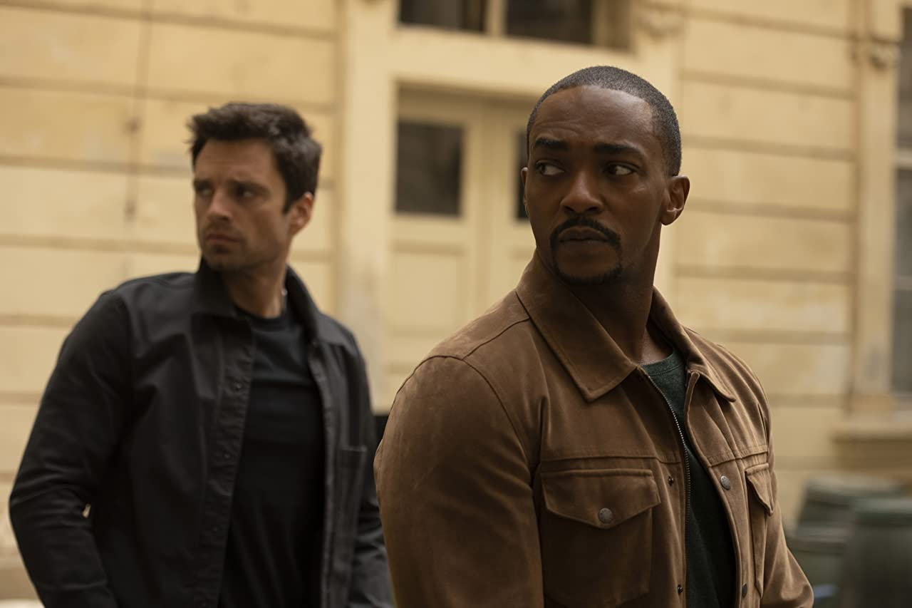 Anthony Mackie Avengers: Endgame The Falcon and The Winter Soldier UCM Marvel