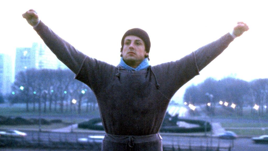 Rocky (1976) Directed by John G. Avildsen  Shown: Sylvester Stallone (as Rocky Balboa)