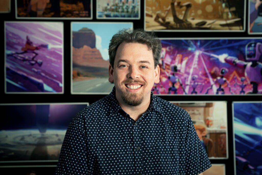 Mike Rianda, director de The Mitchells vs. the Machines