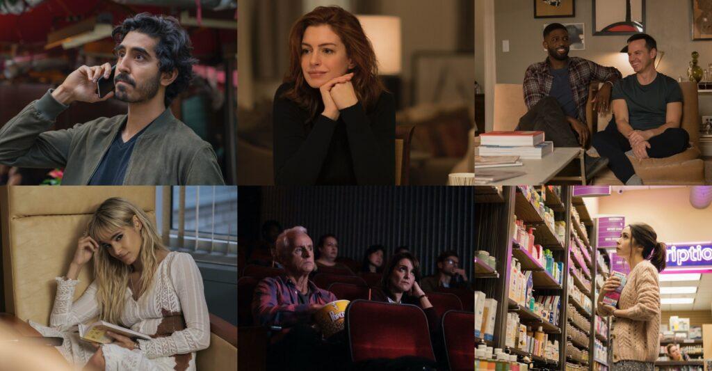 Modern love Anne Hathaway, Tina Fey, Dev Patel, Julia Garner, Ed Sheeran