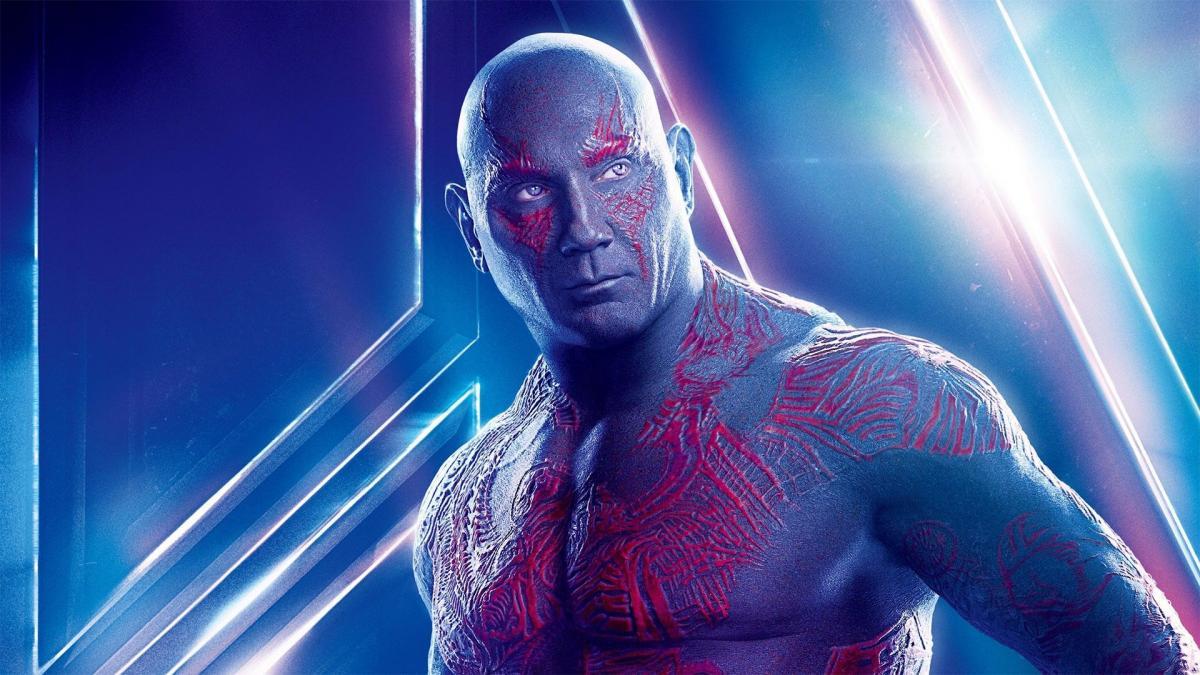 Dave Bautista James Gunn Guardianes de la galaxia 3 Drax