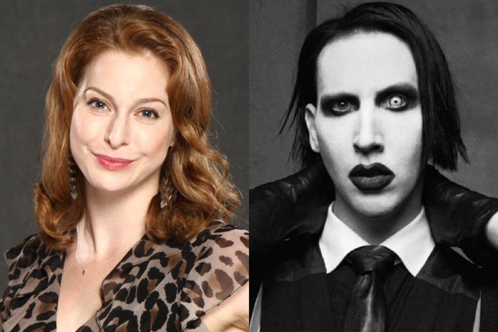 Marilyn Manson Esmé Bianco