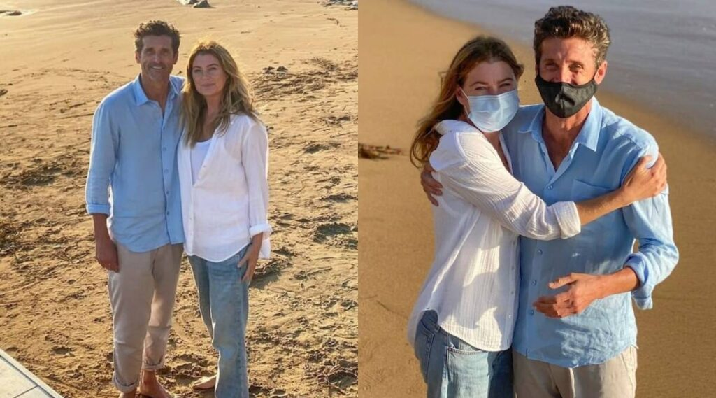 Grey's Anatomy Patrick Dempsey and Ellen Pompeo