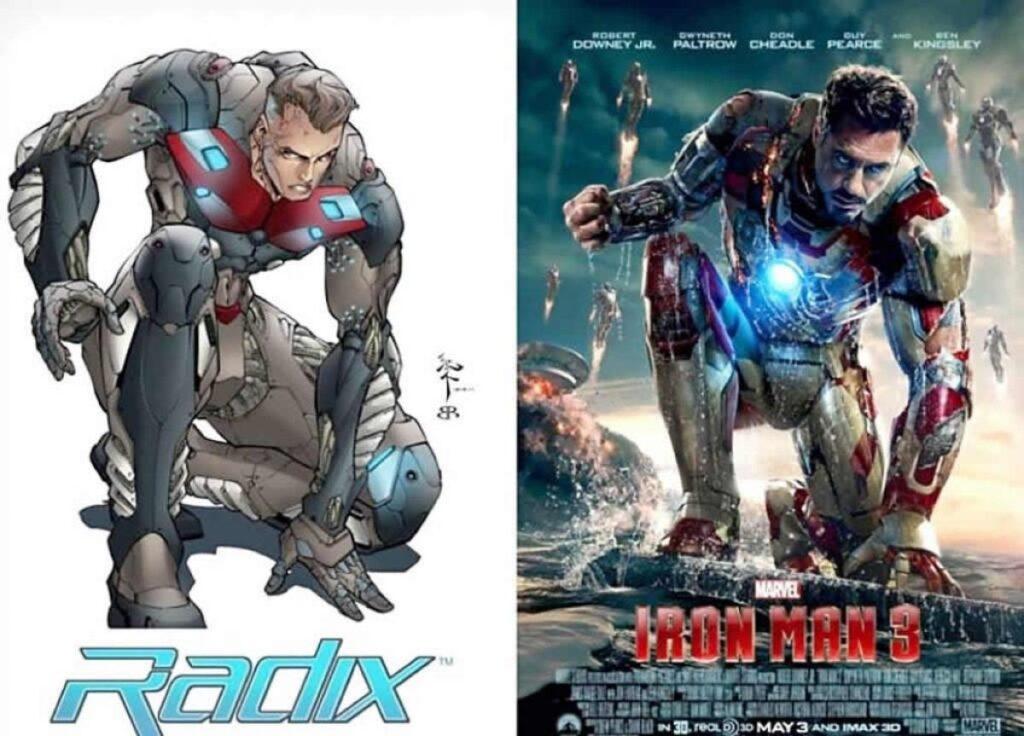 Marvel Studios Iron Man Radix Horizon Comics