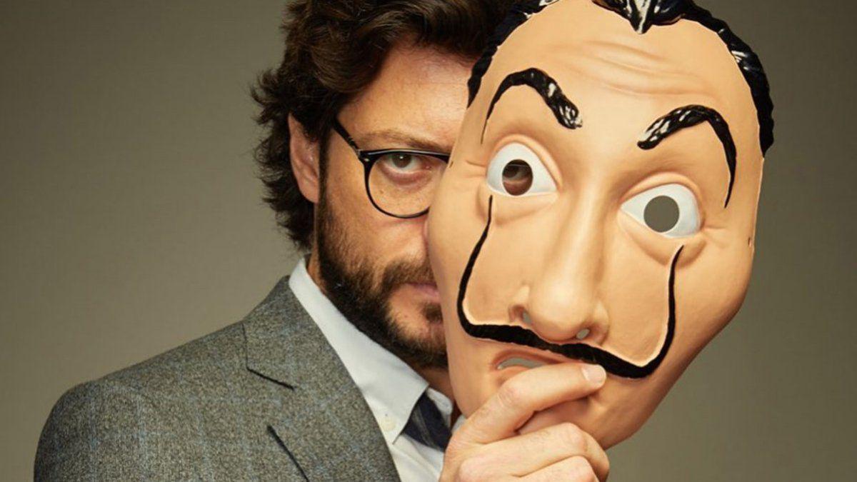 Álvaro Morte La Casa de Papel Netflix despedida última temporada profesor