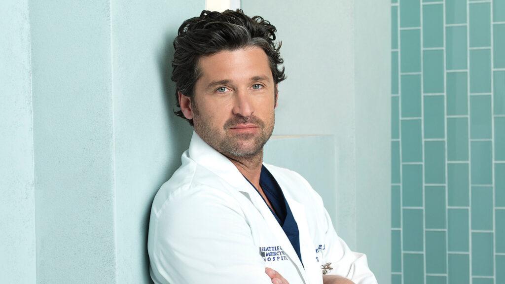 Patrick Dempsey as Derek Grey's Anatomy