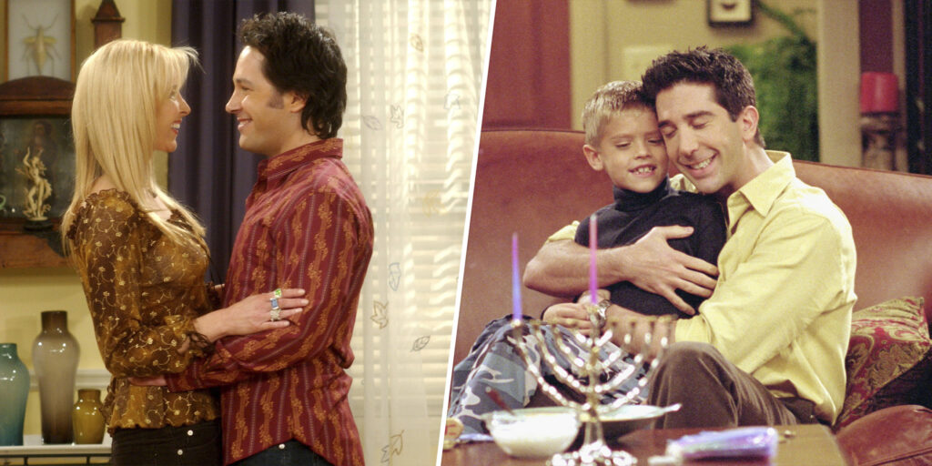 Paul Rudd y Cole Sprouse