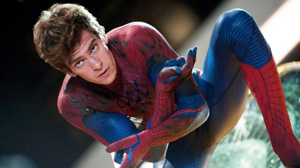Andrew Garfield en Spider-Man