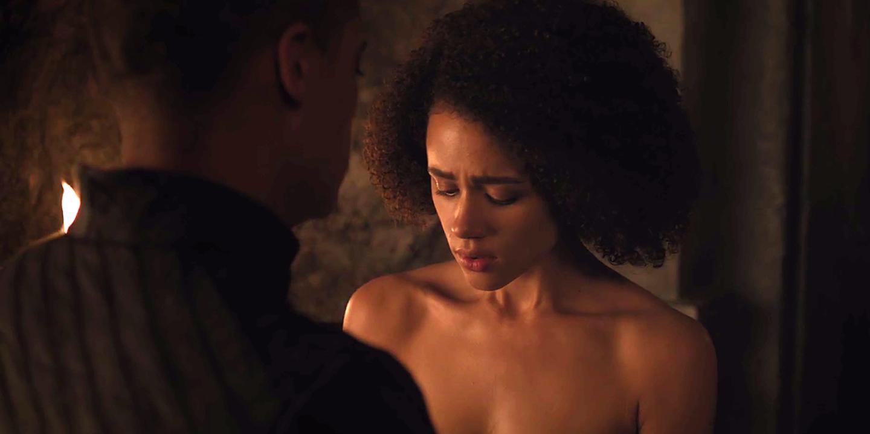 Game of Thrones Nathalie Emmanuel desnudo