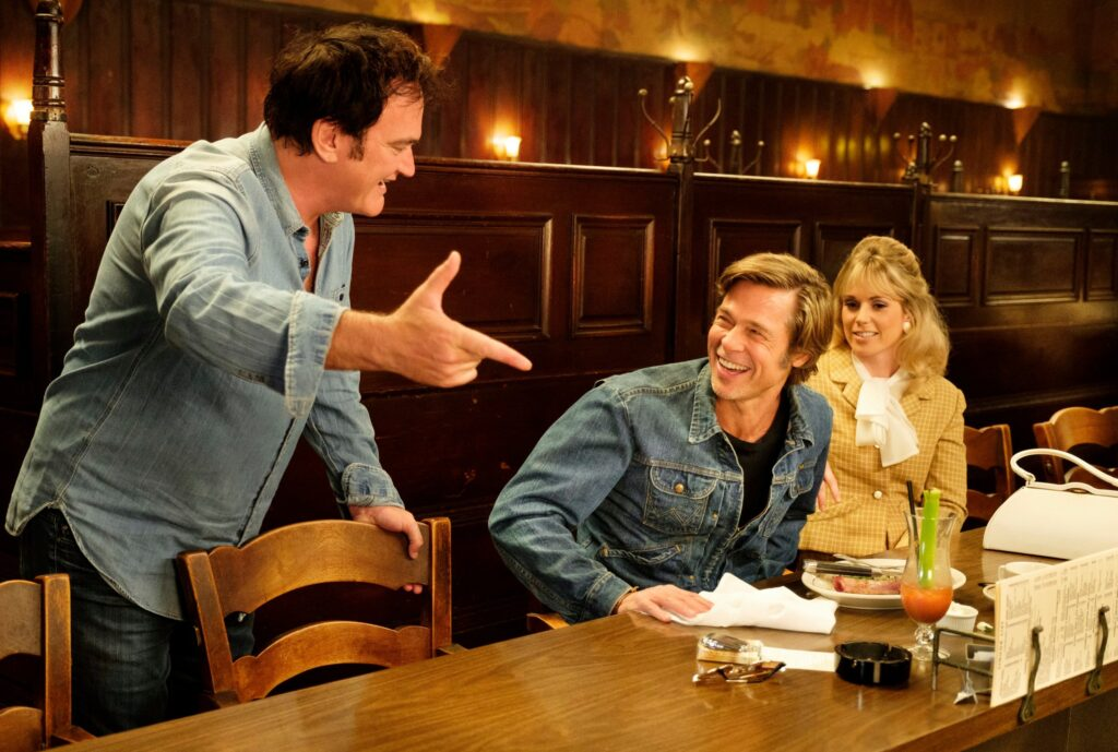 Quentin Tarantino once upon a time in hollywood