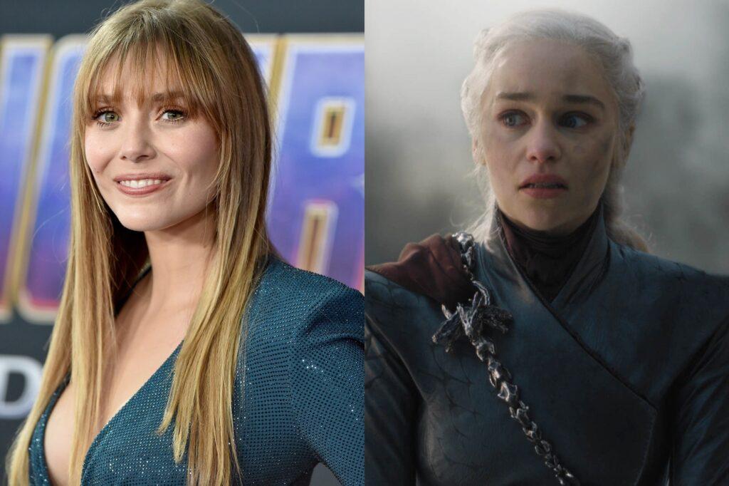Elizabeth Olsen daenerys emilia clarke