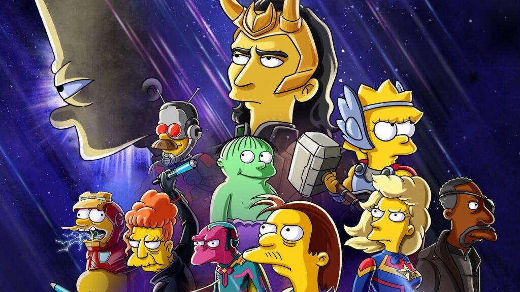 """""""Los Simpson"""" Marvel Loki"""