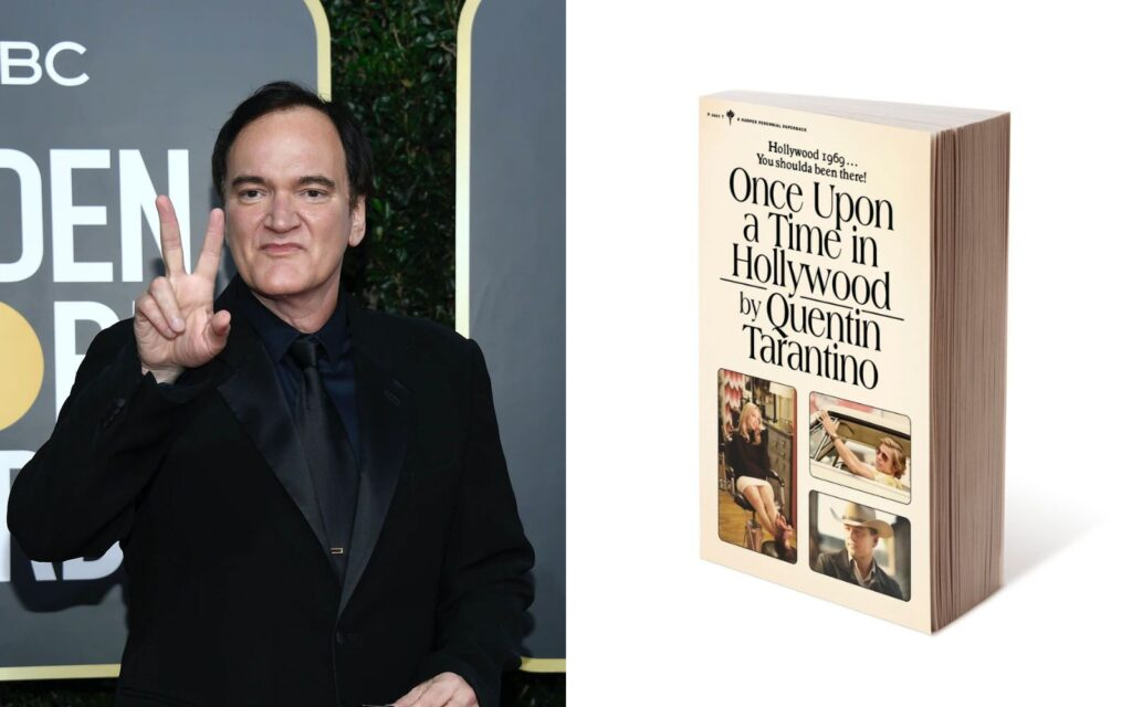 Once Upon a Time in Hollywood libro Quentin Tarantino imágenes extra