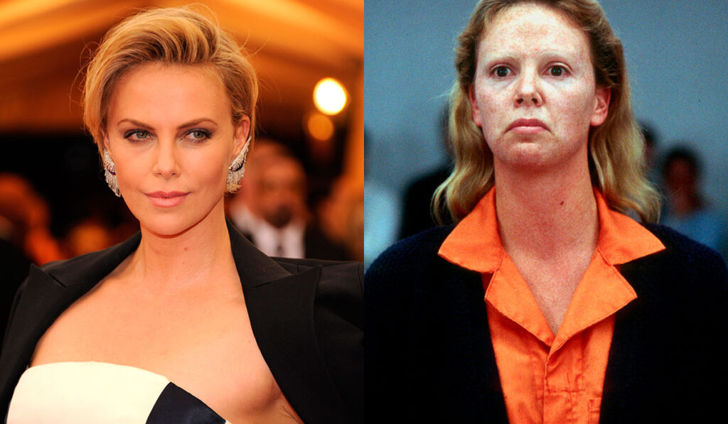 charlize theron before after monster