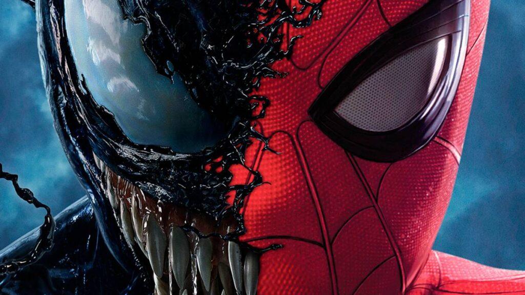 venon and spider man