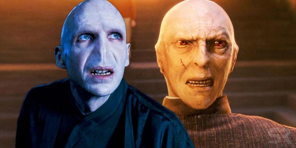Lord Voldemort Richard Bremmer ralph fiennes