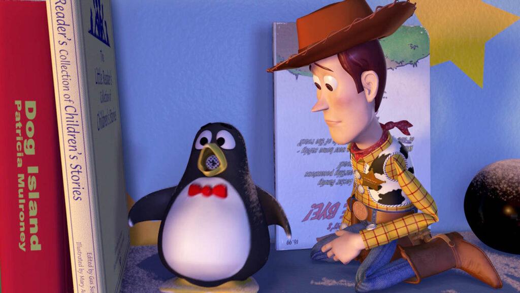 Toy Story bola 8 teoría