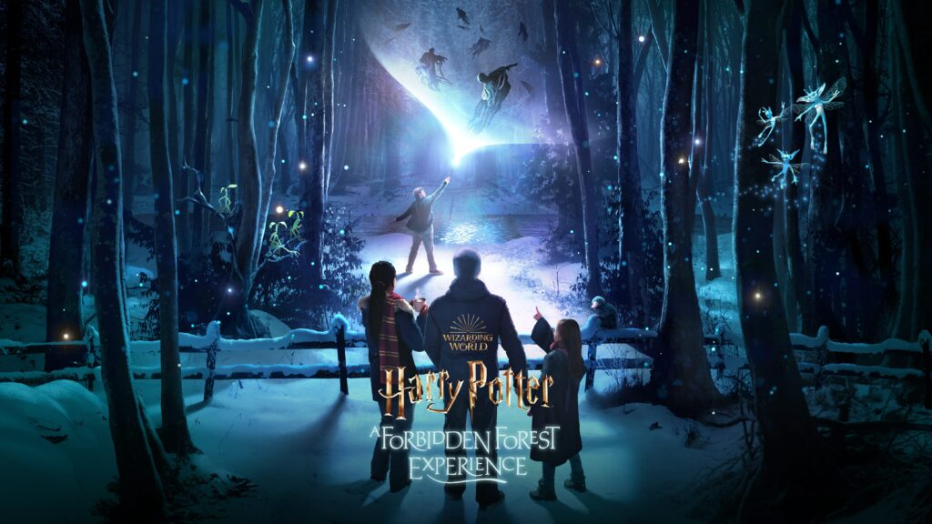 harry potter a forbidden forest experience