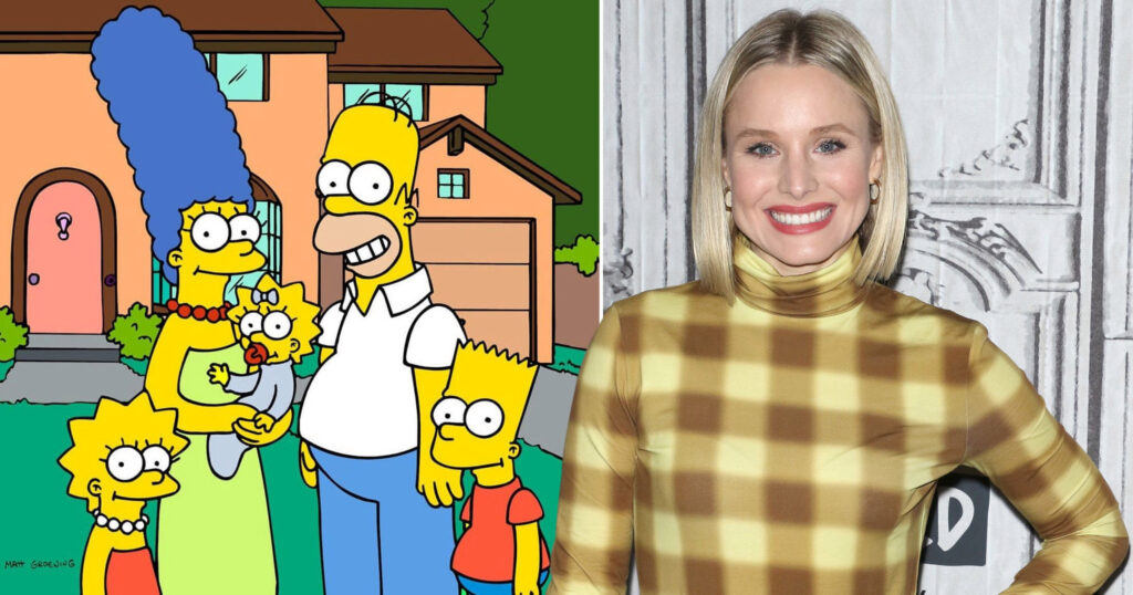 """Los Simpson"" Kristen Bell"