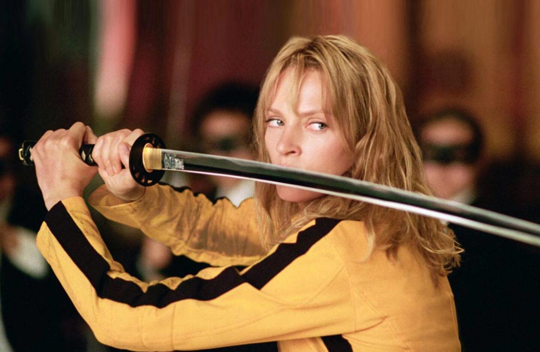 Uma Thurman Kill Bill traje Quentin Tarantino