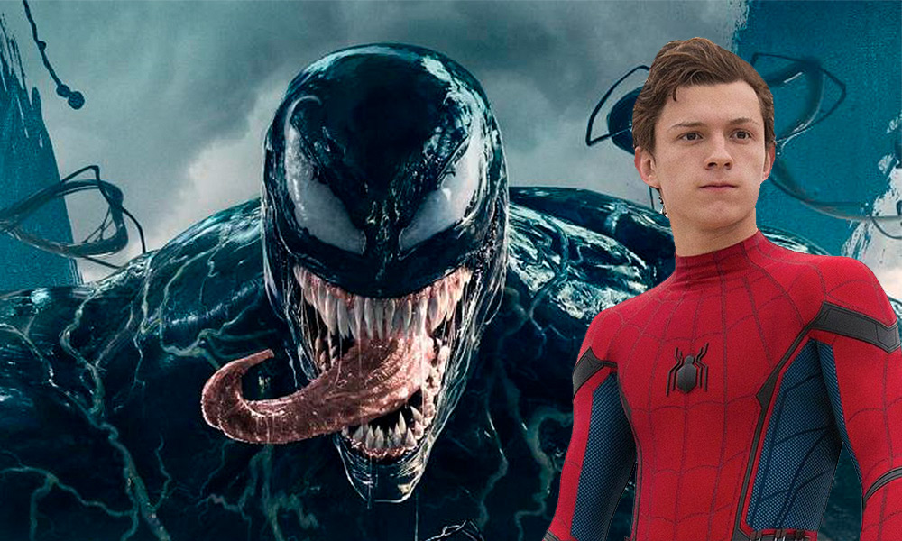 venon tom holland tom hardy spider man