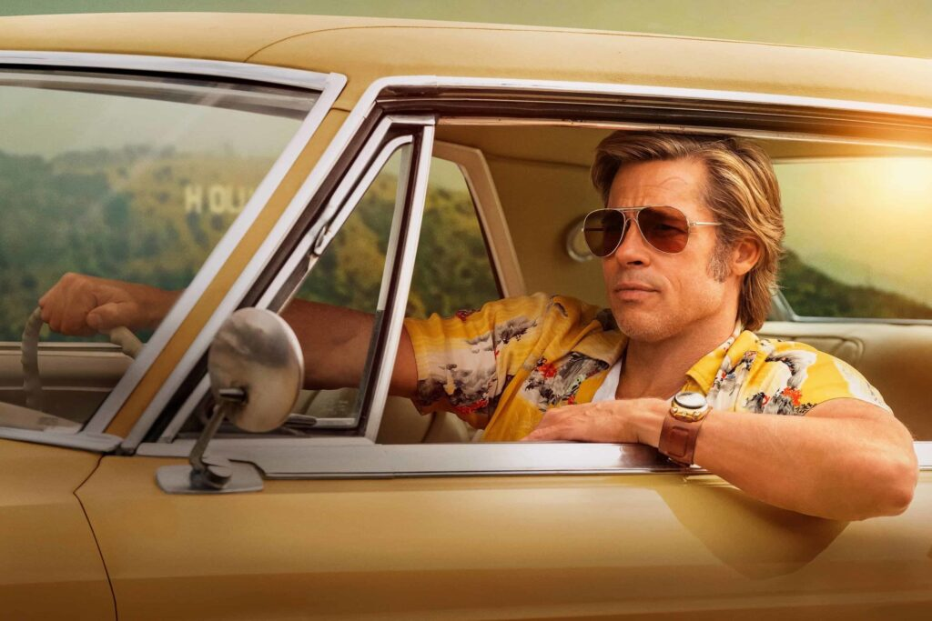 Once Upon a Time in Hollywood Cliff