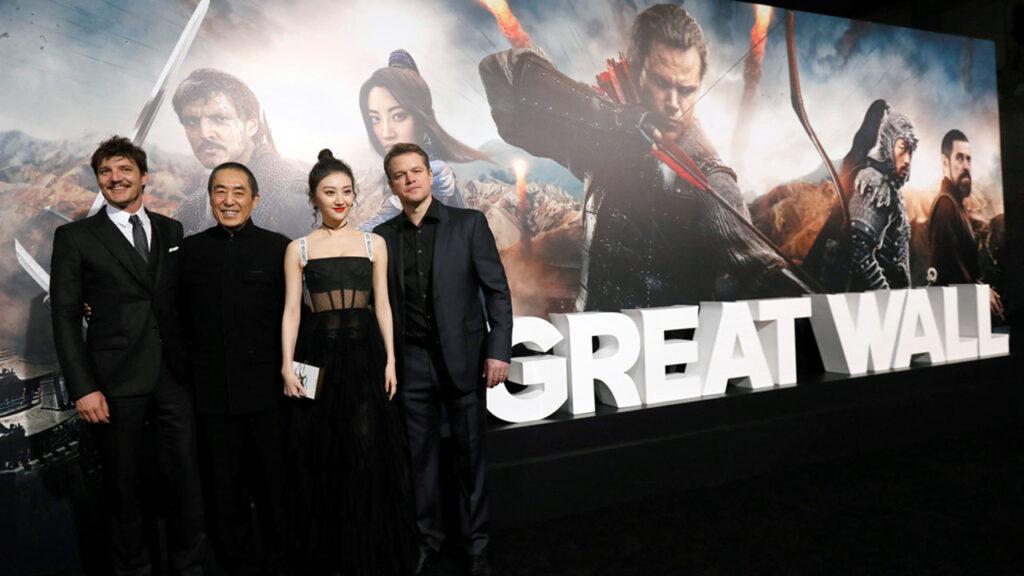 The Great Wall Matt Damon Zhang Yimou
