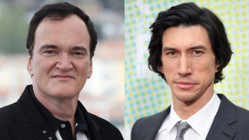 Quentin Tarantino adam driver