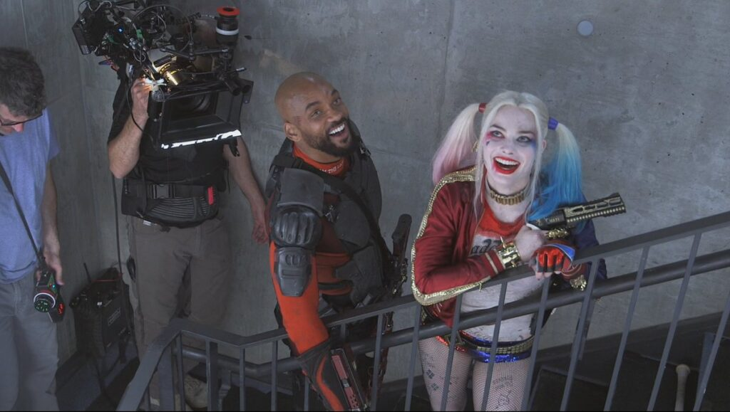 suicide squad harley quinn and deadshot kiss