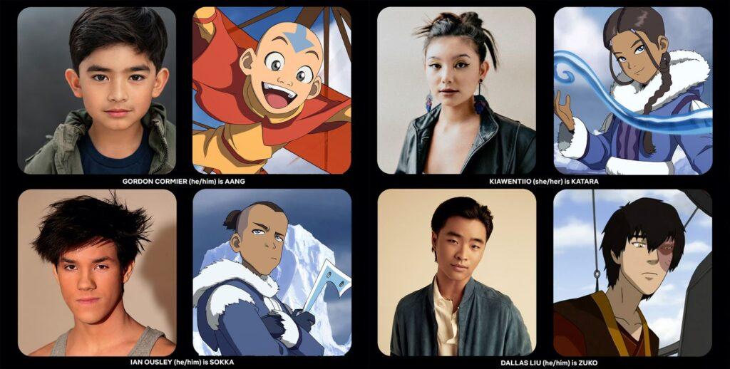 avatar netflix live action cast