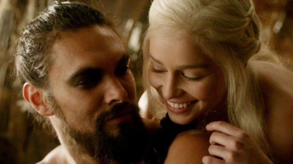 reencuentro entre Daenerys y Khal Drogo