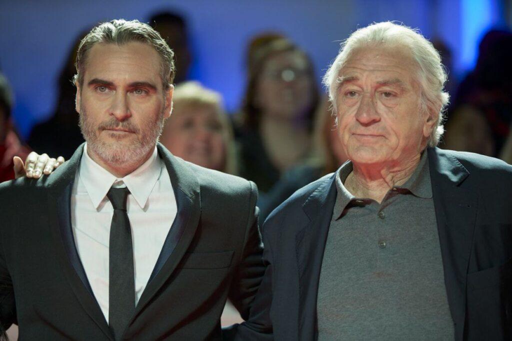 Joaquin Phoenix Robert De Niro no se soportan