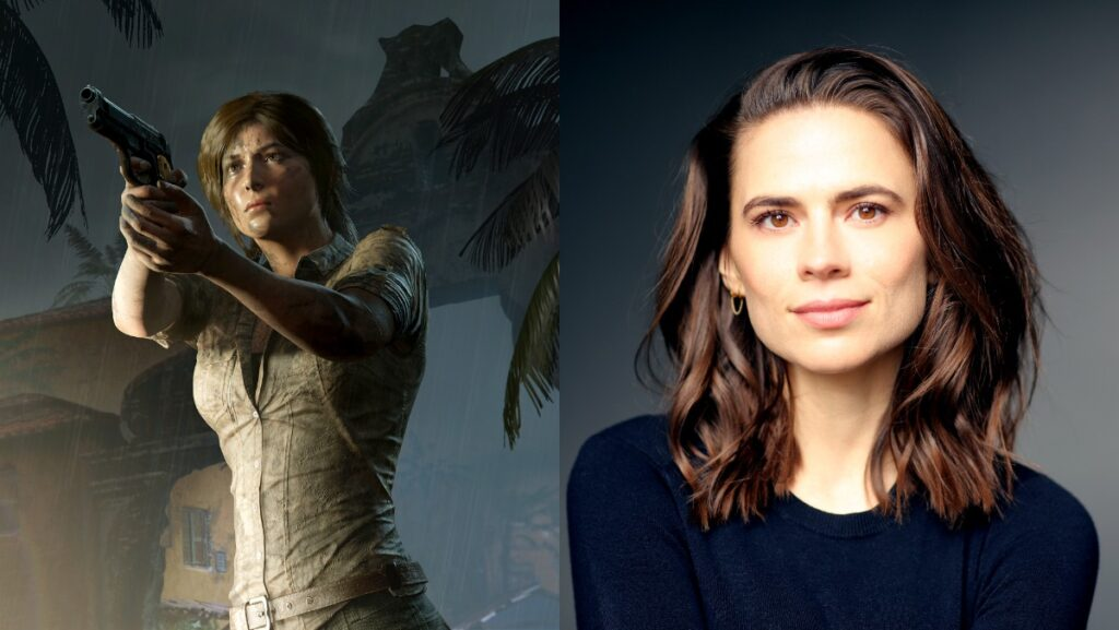 Hayley Atwell Lara Croft Netflix serie animada