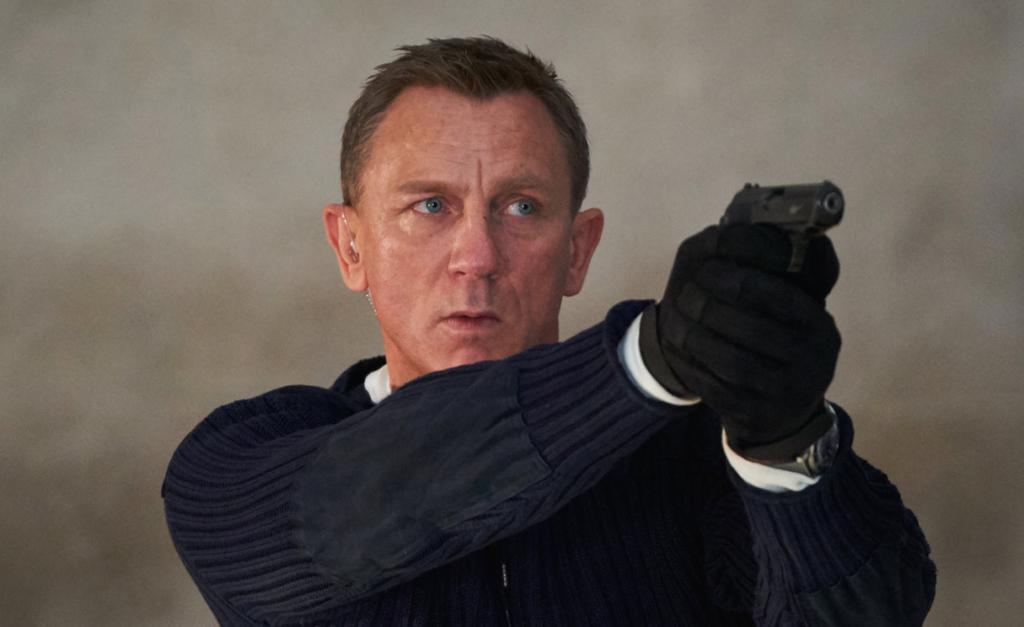 Daniel Craig se despide de James Bond no time to die