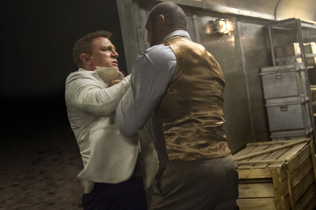 Daniel Craig le rompió la nariz a Dave Bautista james bond