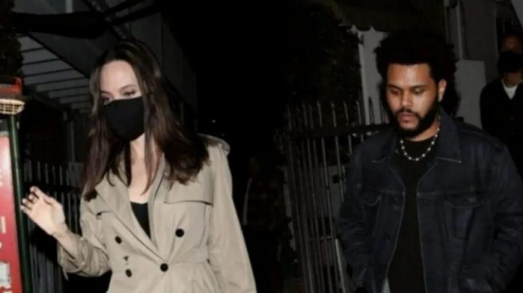 Angelina Jolie y The Weeknd están juntos