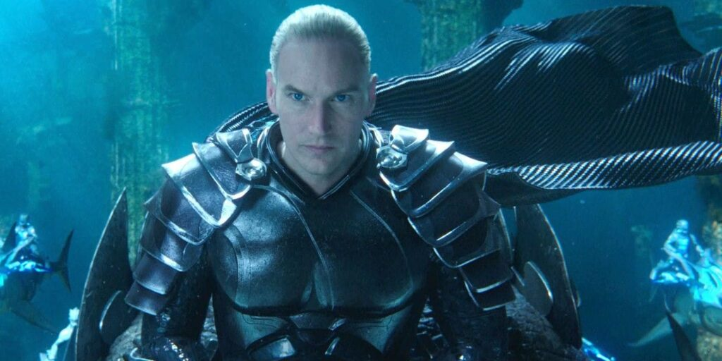 """Aquaman and the Lost Kingdom"" Patrick Wilson"