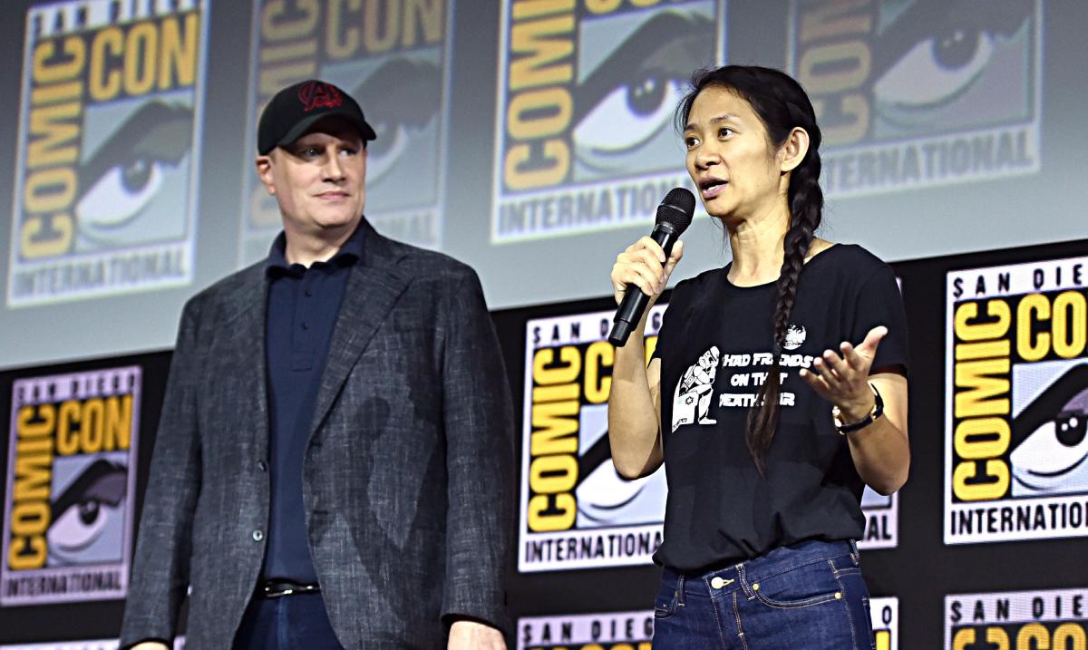 Chloé Zhao Eternals Marvel UCM