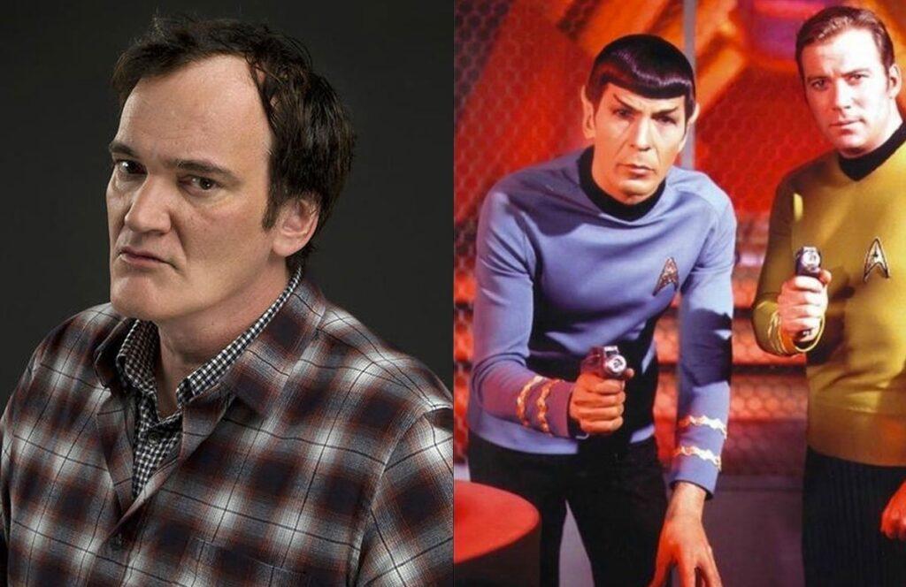 "Quentin Tarantino ""Star Trek"""