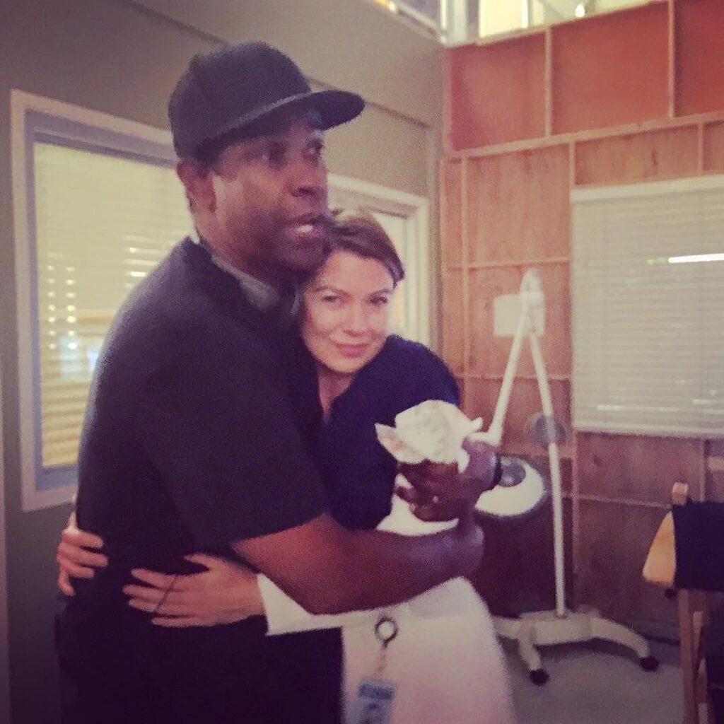 Ellen Pompeo Grey's Anatomy Denzel Washington