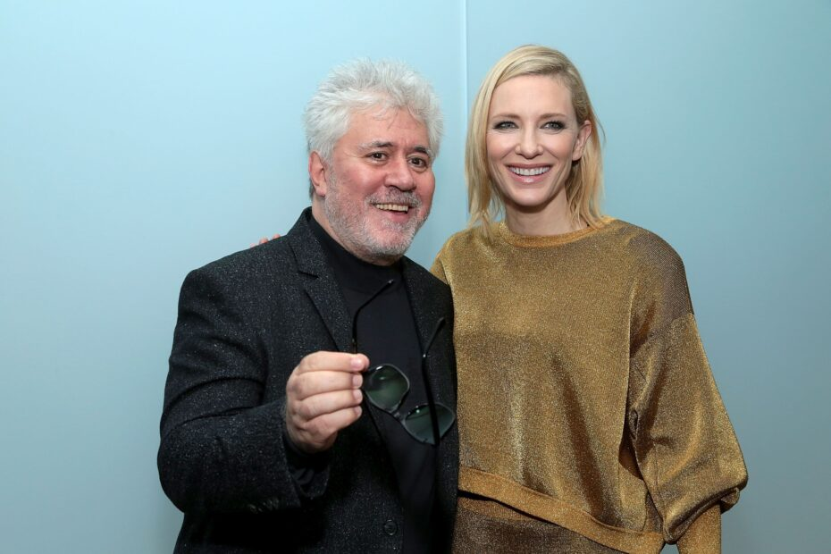 director-pedro-almodovar-and-actress-cate-blanchett-attend-news-photo-1633250511